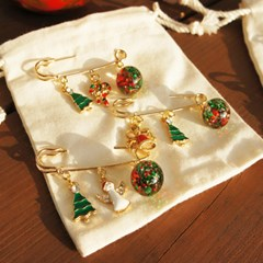크리스마스 워터볼 브로치(Christmas Waterball Broach)