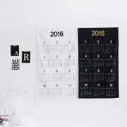 NSCR/ 블랙/하프달력] 2016 Calendar Just simple + luxury oxford