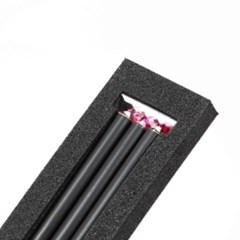 크리스탈 탄생석 연필 7월 루비 (3p)