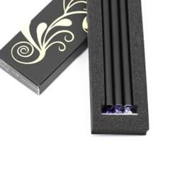 크리스탈 탄생석 연필 12월 탄자나이트(3p)