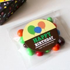 HAPPY BIRTH DAY 풍선 스티커