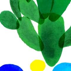 cactus/선인장[알루미늄 메탈 액자/4컬러]