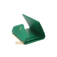 버밀란 편지 중지갑 - 에메랄드그린
