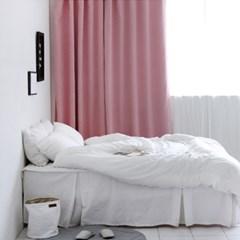 [Curtain] 3중 솔리드 암막커튼(핑크)