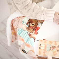 paper doll mate blanket ver.3 양털무릎담요