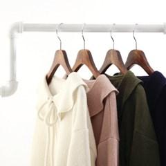 ribbon ruffle blouse