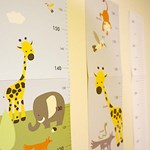 키재기자 Kids Growth Chart Ruler