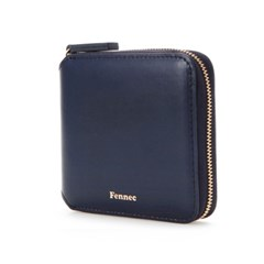 Fennec zipper wallet - Navy