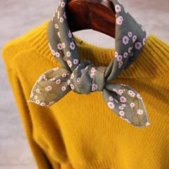 Hankie-Petit Scarf (손수건-스카프) - 꽃이라면