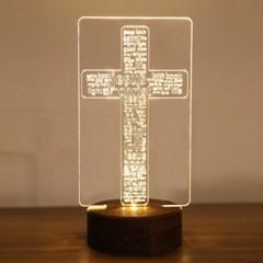십자가 조명