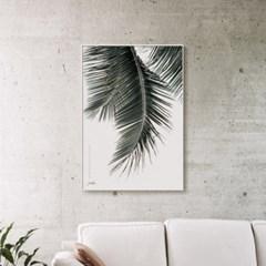 메탈 야자수 보타니컬 식물 포스터 액자 나뭇잎E