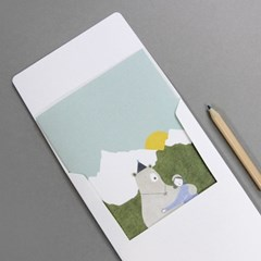 Bear and me_card set