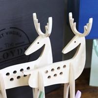 크리스마스 사슴 트리 오너먼트