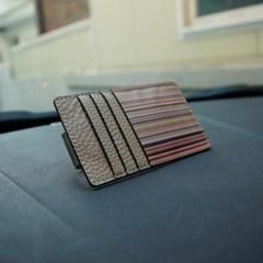 휠러 썬바이저 포켓 - 빈티지 스트라이프 차량용 자동차 포켓