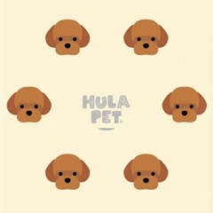 HULA PET PATTERN CASE (Poodle)