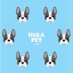 HULA PET PATTERN CASE (French Bulldog)