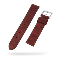 [스트랩스 STRAPS] 시계줄 가죽 밴드 Brick Red