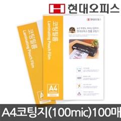 코팅지A4 (100mic)