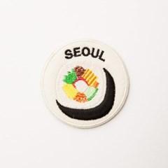 자수 브로치: 한국의 도시들