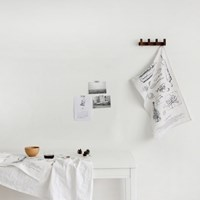 [Multi Fabric]Natural Kitchen illust Linen(완제품)