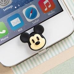 디즈니 라이트닝캡 미키 아이폰5-6 홈버튼