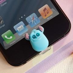 디즈니 라이트닝캡 설리 아이폰5-6 홈버튼