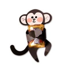 애니멀 초콜릿 데코페이퍼 (6개) - 3종