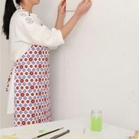 [Apron] 디자인 에이프런_Camellia Flower linen