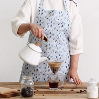 [Apron] 디자인 에이프런_헛헛한 마음 달래는 소소한 땅콩 Linen