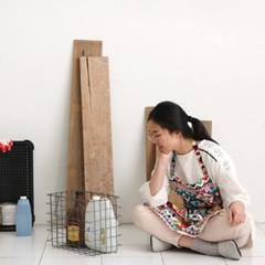 [Apron] 디자인 에이프런_Aztec Patch Rory Linen