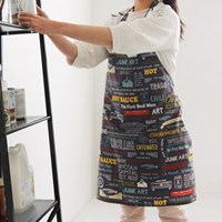 [Apron] 디자인 에이프런_American's hobby cotton