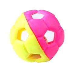 실속형축구공 방울 애견장난감