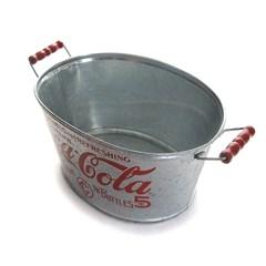 코카콜라 철재 양동이
