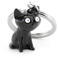 [트로이카] FELIX 고양이 키홀더 블랙 KR16-22/BK