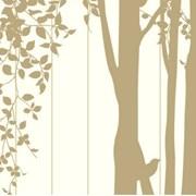 에어프리 아트도어_고요한 숲속의 아침(브라운)