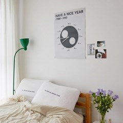 THE PILLOW COVER (WHITE)