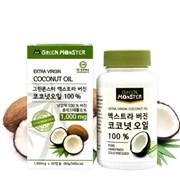 [그린몬스터] 엑스트라 버진 코코넛오일 캡슐형 1000mg 3개 (180정)