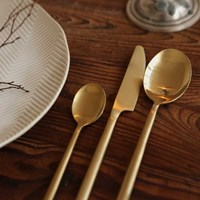 Matt gold - 01 Dinner knife