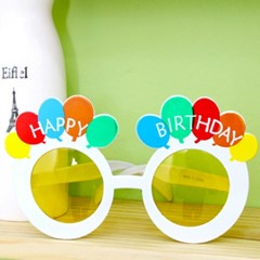 생일풍선안경