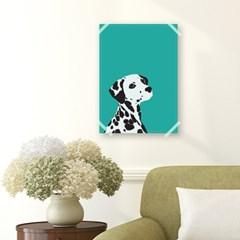 패브릭 포스터_Mint Dalmatian (028)
