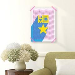 패브릭 포스터_U R MY STAR (032)