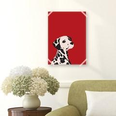 패브릭 포스터_Red Dalmatian (027)