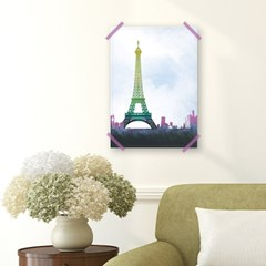패브릭 포스터_Dreamlike Eiffel Tower (049)