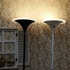 [LAMPDA] LED 오로라 거실용 장스탠드 (화이트)