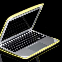 바투카 3D 큐브 맥북에어 13.3(2017) 노트북파우치 핫핑크