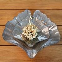 그레이 은행나무잎 그릇小