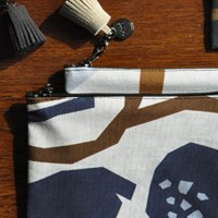 lotus ivory pouch
