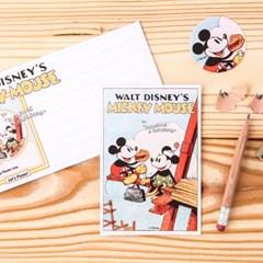 [Disney] Vintage Mickey&Minnie_Pouch