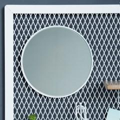 메쉬보드 거울 200mm(블랙,화이트)