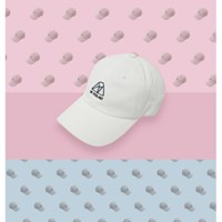 iceberg series ball cap - White